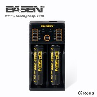 intelligent charger Basen BS2 two bay li-ion battery charger good quality intelligent charger