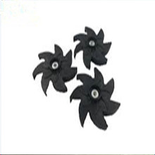 high precision plastic injection moulds / impeller parts for auto plastic injection molding / high precision CNC machining parts