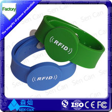 Factory Price - PVC Epoxy Woven NFC RFID wristband