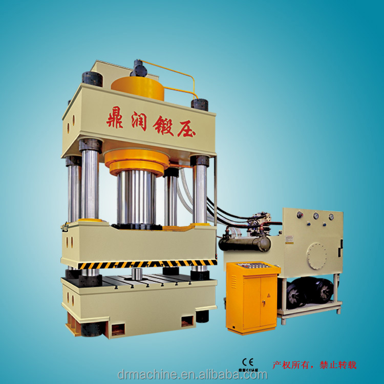 Car body making hydraulic stamping sheet metal punch press machine