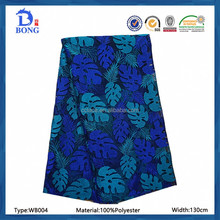 two-tone african floral embroidery lace fabric for girls dress