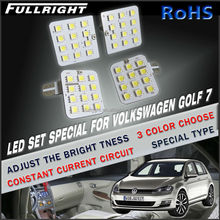 LED Car map reading light car interior led lights for volkswagen golf 7 vw golf 7