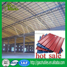 ISO/SGS proved plastic pvc roof sheet/heating insulation upvc roof tile