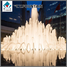 Large Outdoor Fountain with different water features