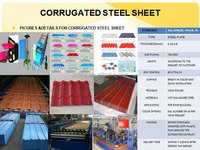 color coated galvanized corrugated roofing sheet/zinc aluminium coated steel roofing sheet