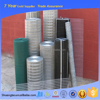 Eco-friendly 1x1 welded wire mesh panel, welded wire fence roll, welded wire mesh price