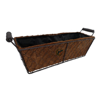 Garden Metal Basket Rectangular Vegetable Planters