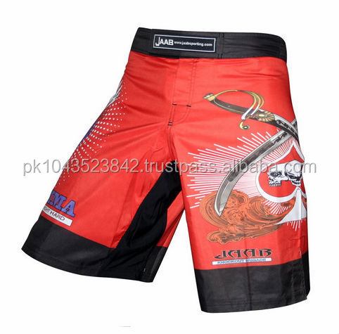 Custom MMA Shorts in different colors, custom made mma shorts gear, mma rash guards