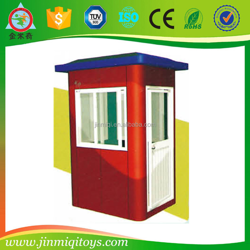 Mobile prefab Fiberglass material security booth, customized guard house