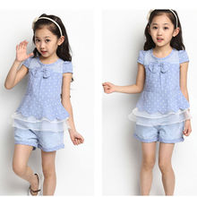 M61312A wholesale beautiful lace child girl clothes