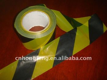 PE warning tape with