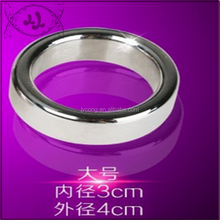 Adult thickness of 0.5 cm Stainless steel Lock Large number delayed metal ring penis