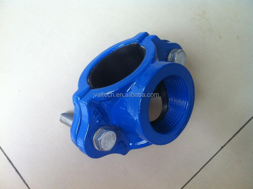 QUICK UPVC HDPE PIPE FITTINGS SADDLE CLAMP