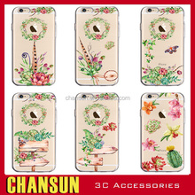 Colored Painting Creative gift tpu mobile phone case for Iphone 7 plus