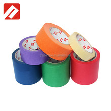 Single side crepe paper masking low temperature adhesive tape