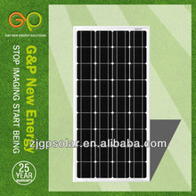 130W photovoltaic solar panel