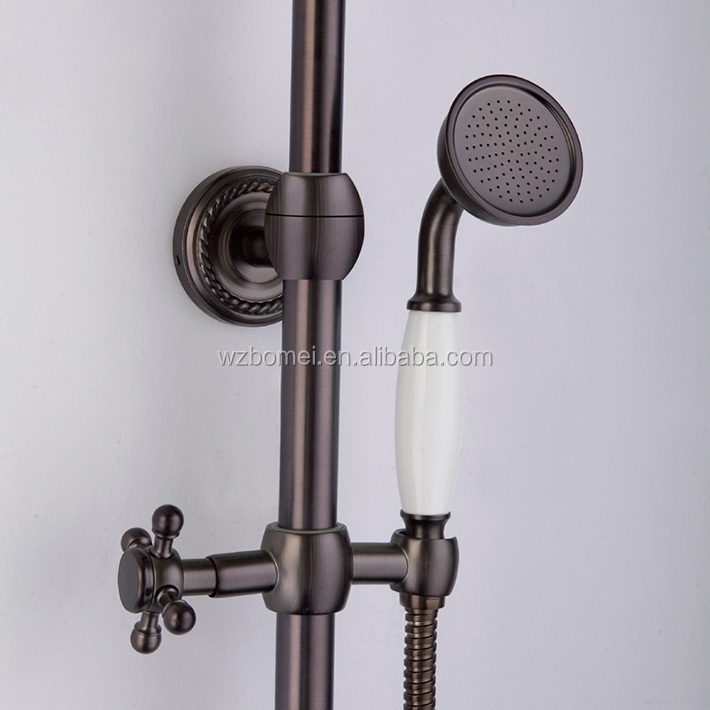 Wholesale High Quality H59 brass 8inch rain shower head