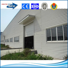 China made industrial shed design light frame steel structure prefabricated workshops