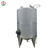stainless steel honey heating mixing tank with agitator liquid storage vessel
