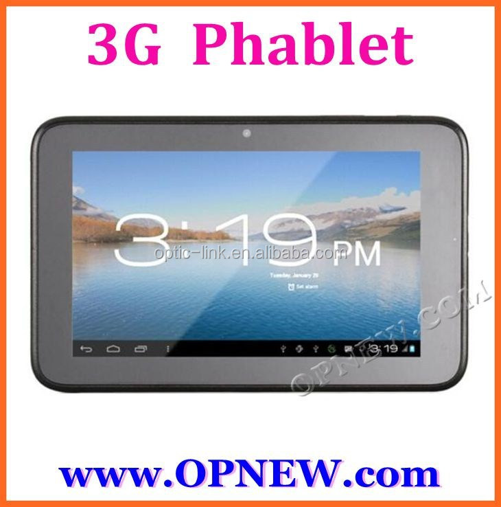 cheap 7 inch phone call tablet 2G GSM 4 bands Allwinner A23 Dual Sim card build-in Wifi Bluetooth