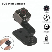 SQ8 Mini Hidden Spy Camera Infrared Night Vision Motion Detection Home Security Surveillance Baby Pet Nanny Camera Cam Camcorder