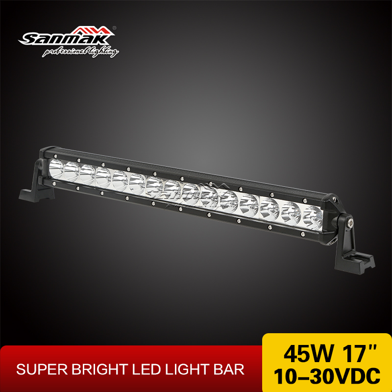 Sanmak Nice Quality high intensity CE RoHS IP67 SGS TUV off road light bar auto 4x4 led