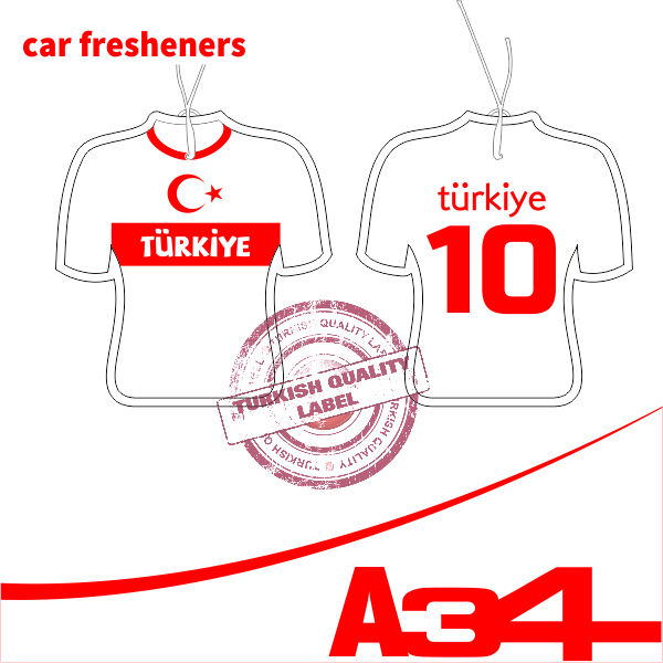 World Cup Paper Car Fresheners Turkiye