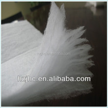 Eco-friendly thermal bonded nonwoven polyester padding for mattress