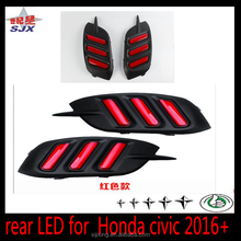 LED Daylight DRL For Honda Civic 2015 -2017Daytime Running Light