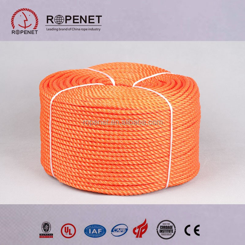 Twisted pp rope,pp mooring rope,1 inch pp nylon rope