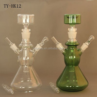 Hand blown borosilicate galss COE 3.3 fancy glass hookah