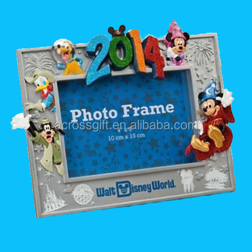 WDW 2014 Sorcerer Mickey Mouse 4 X 6 Resin Picture Photo Frame