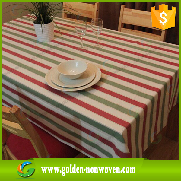 disposable non woven tablecloth for wedding ,party,custom different color tablecloth,non woven table cover