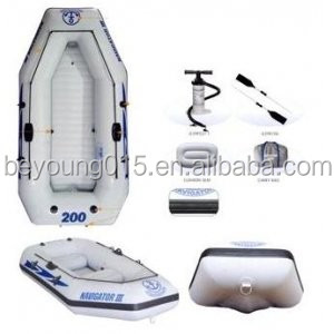 2.1 - 3m Length (m) full cover double person inflatable fishing boat kayak for sale