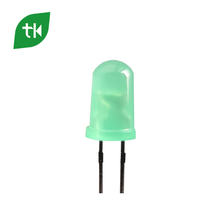2-Pin 5mm Through Hole Led Diode Diffused Green