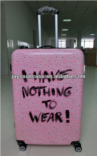 JAYS Fashion Design Hard ABS Trolley Suitcase With High Quality