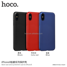 HOCO Spare Parts for Mobile Phones Bode Raise Series Protective Case Raw Material Phone Cover for IPhone X