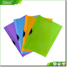 pp/pvc customized size logo cardboard file holders