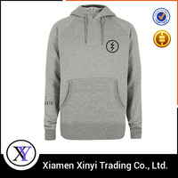 Wholesale custom 100% cotton pullover men's tall hoodies