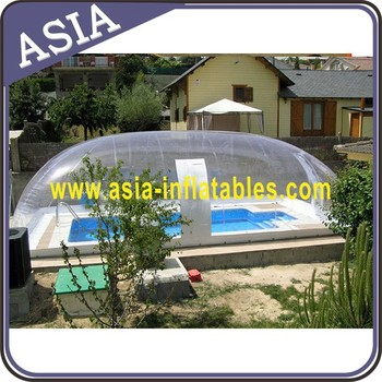 Inflatable Clear Bubble Tent For Swiming Pool Buy Inflatable Clear Dome Tent Inflatable Bubble