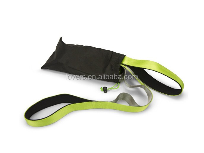 Custom Nylon Non-Elastic Yoga Stretching Strap