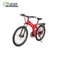 7 speed electrical snow bike Folding frame 36V 350W 26 tires brakes electric fat bike