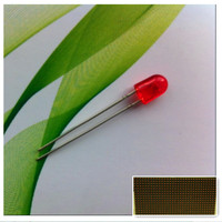 546 oval purple led diode red lamp p10 outdoor display screen led module /Sombrero de paja blanco de 5mm de LED