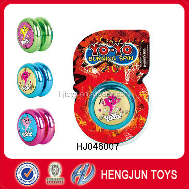 hot selling EN71/7P/ASTM PS plastic material super yoyo toys