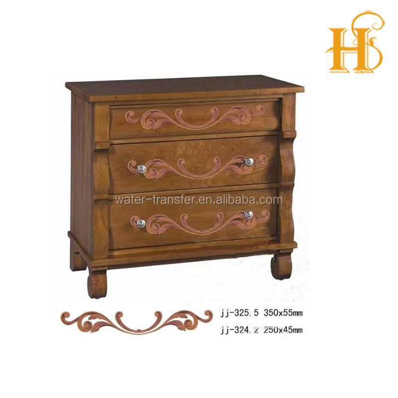 Furniture decorative transfers for furniture water slip for Furniture transfers