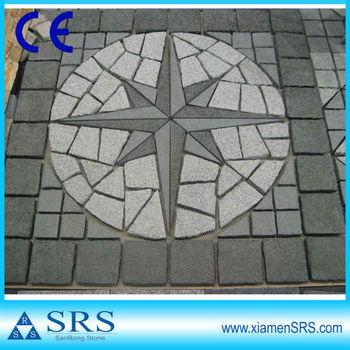Decorative flooring granite exterior stone medallions buy exterior stone medallions granite for Architectural medallions exterior