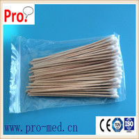 good quality cotton dental swab stick medical Sterile Gauze Swab