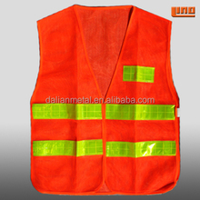 High visibility reflective summer safety jackets with CE