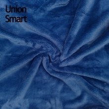 Newest design two side brushed solid matt flannel fleece 100% Polyester Fabric