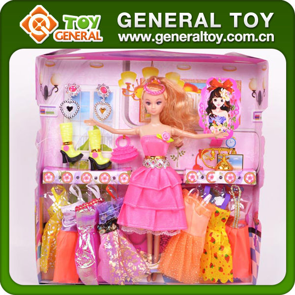 Lovely Beauty Doll Set Girls Dolls Cloth Baby Doll